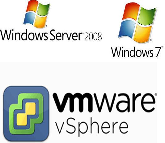 Windows 7 Windows 2008 vSphere Client Fix