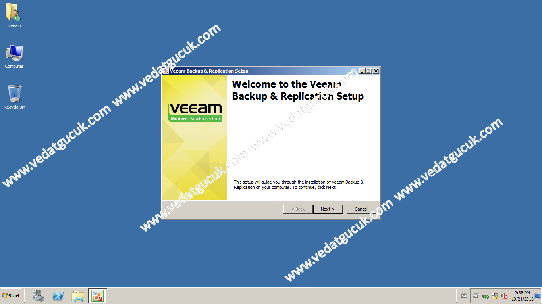 Veeam Backup Replication Kurulum