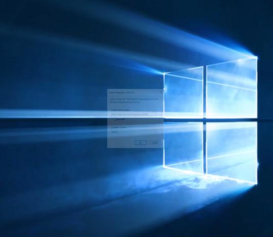 Windows 10 SYSPREP Hatası