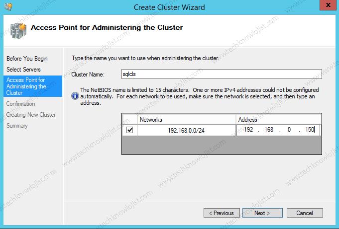 SQL Server 2016 Cluster Kurulum Bölüm1