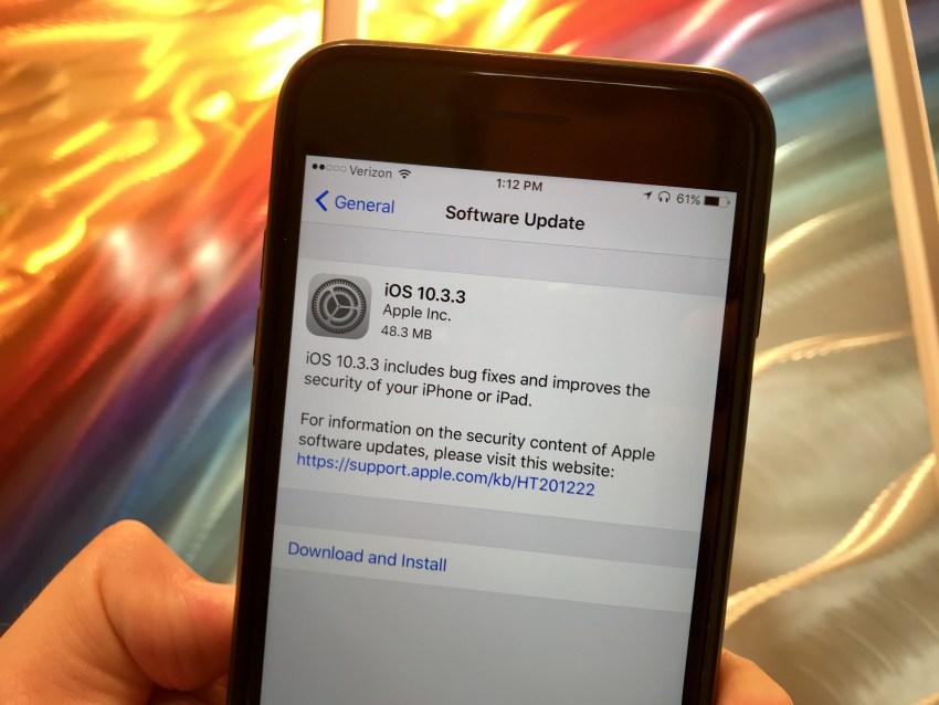 Apple iOS Yeni Sürümünü yayınlandı