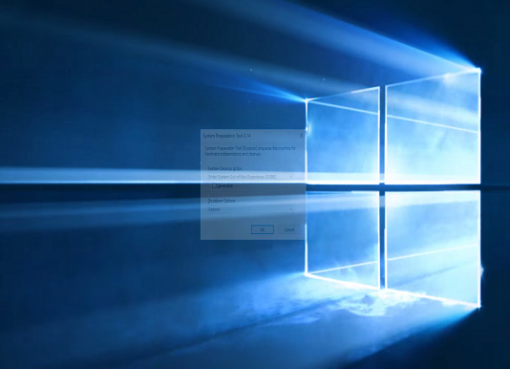 Windows 10 SYSPREP Hatası