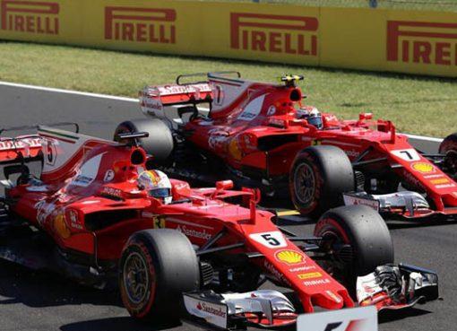 Formula 1 Macaristan Ayağında Pole Vettelin