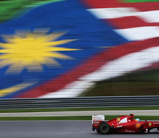Malezya GP İkinci Antreman