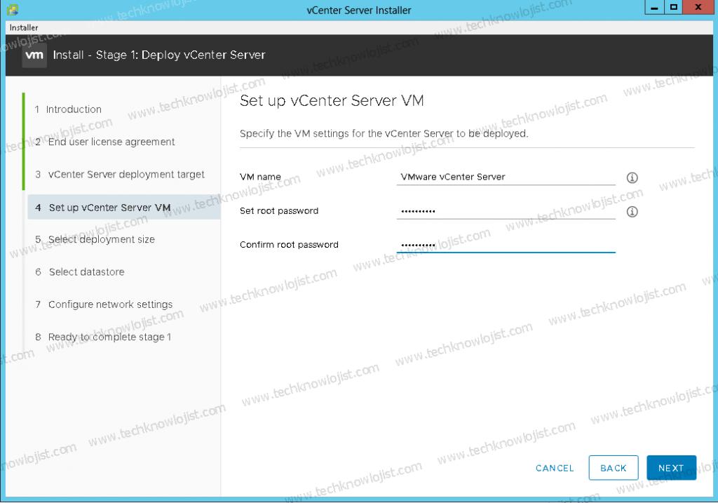 vCenter Server 7 Kurulumu